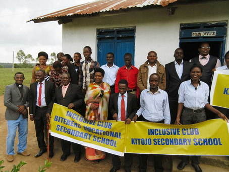 Inclusivity Clubs Help The Youth Of Uganda Express New Ideas & Attitudes Toward Diversity Acceptance