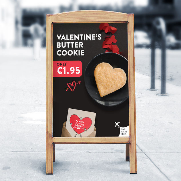 VALENTINE'S DAY LARNACA AIRPORT PROMOTION