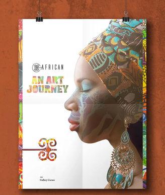 AFRICAN ART EVENT MATERIAL