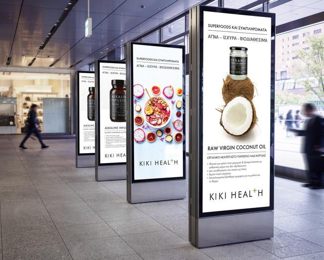 Kiki Health Banners