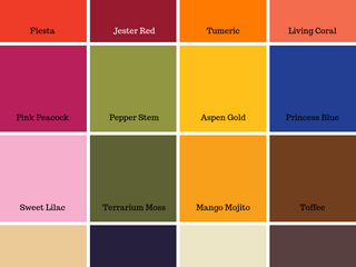 5 Easy Ways to Incorporate the Pantone Spring Palette into Your Design