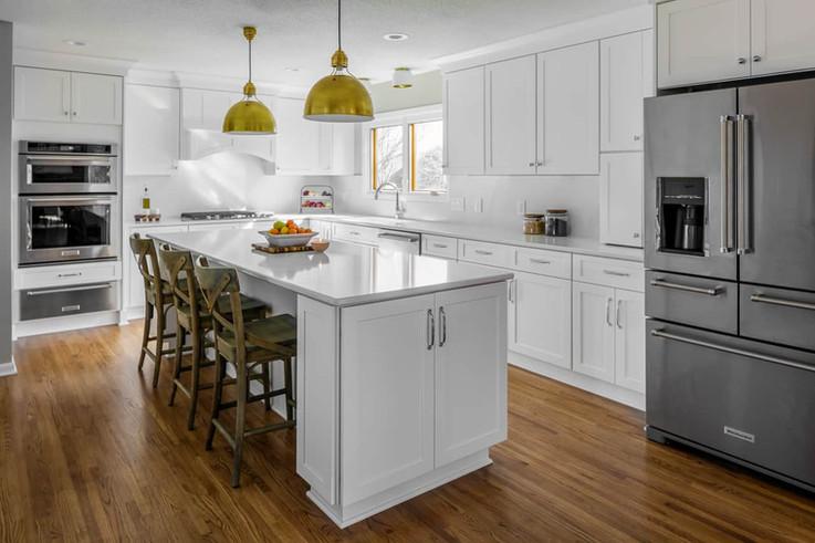 All-White Kitchen Remodel