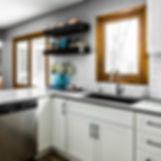 Quartz kitchen countertop from Caesarsto