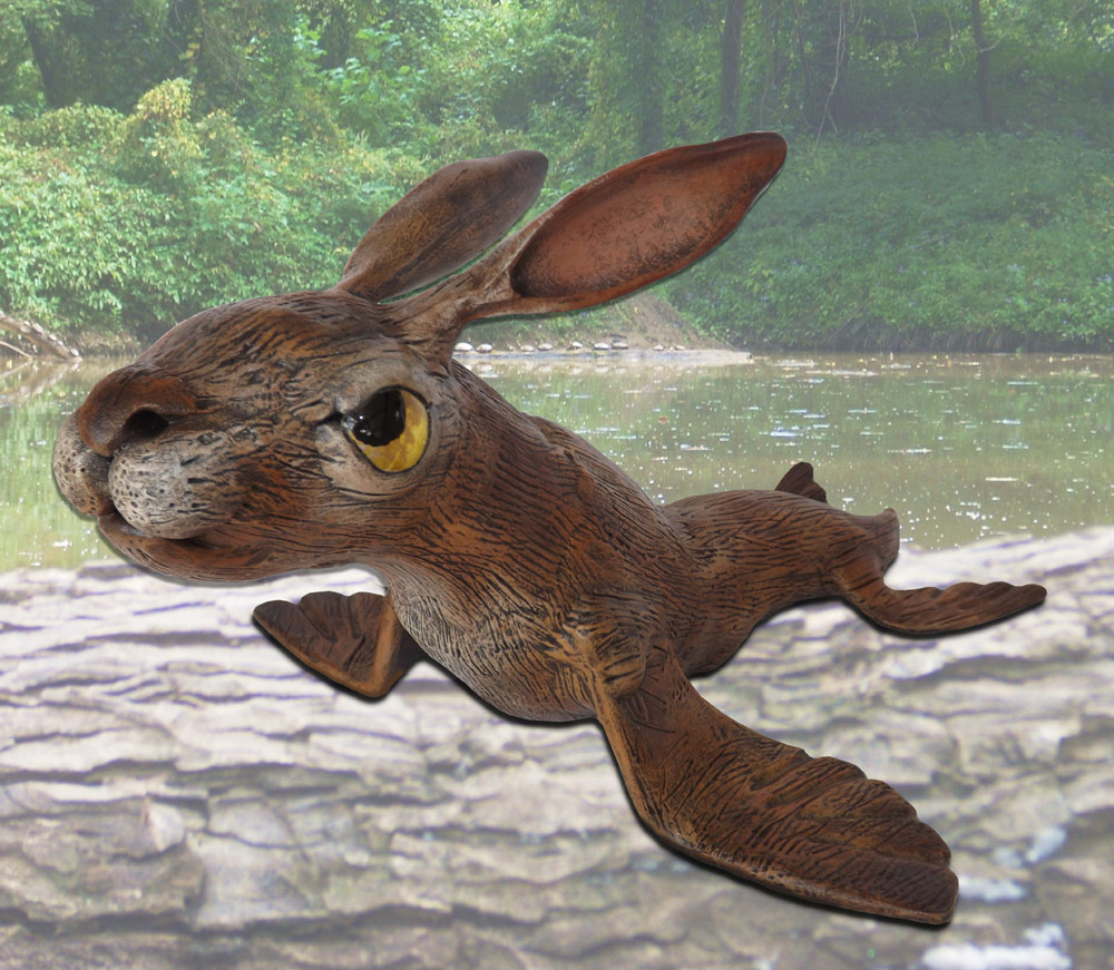 The Caloosahatchee River Hare (lepus aquatica Floridus)
