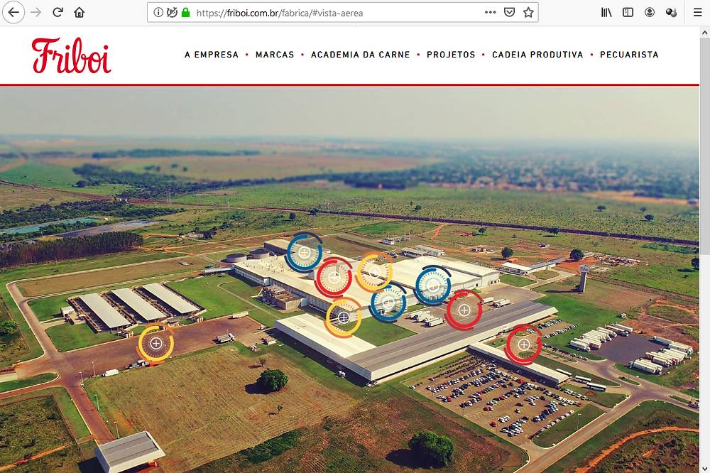 Tour virtual site Friboi