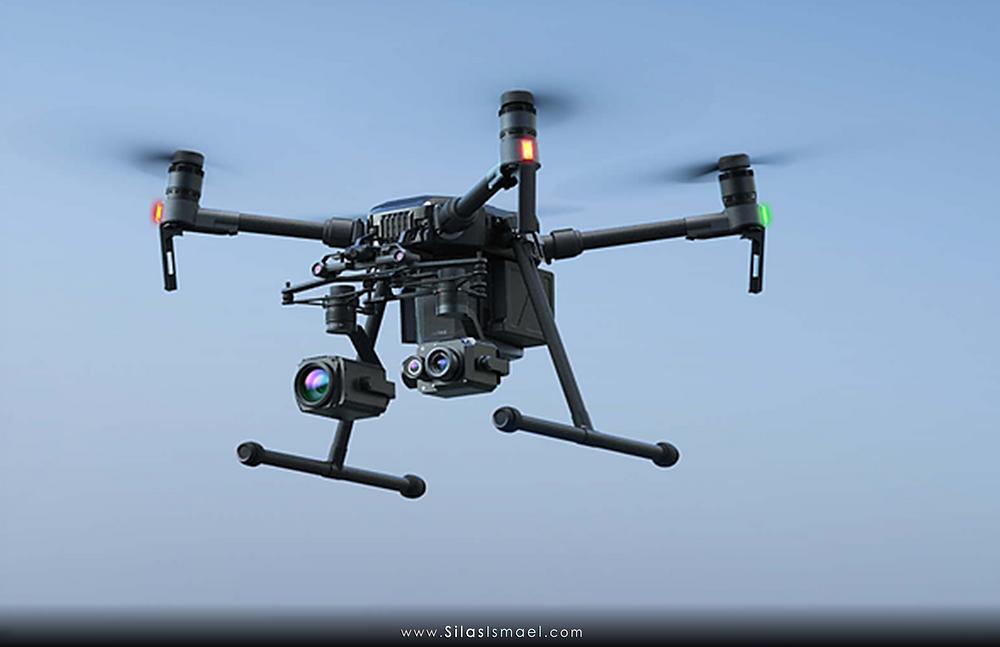 Drone DJI com câmera térmica