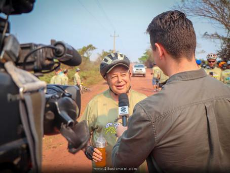 Globo Esporte: Pedalada Pantanal