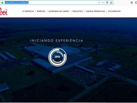 Friboi: Nossas imagens no site Oficial