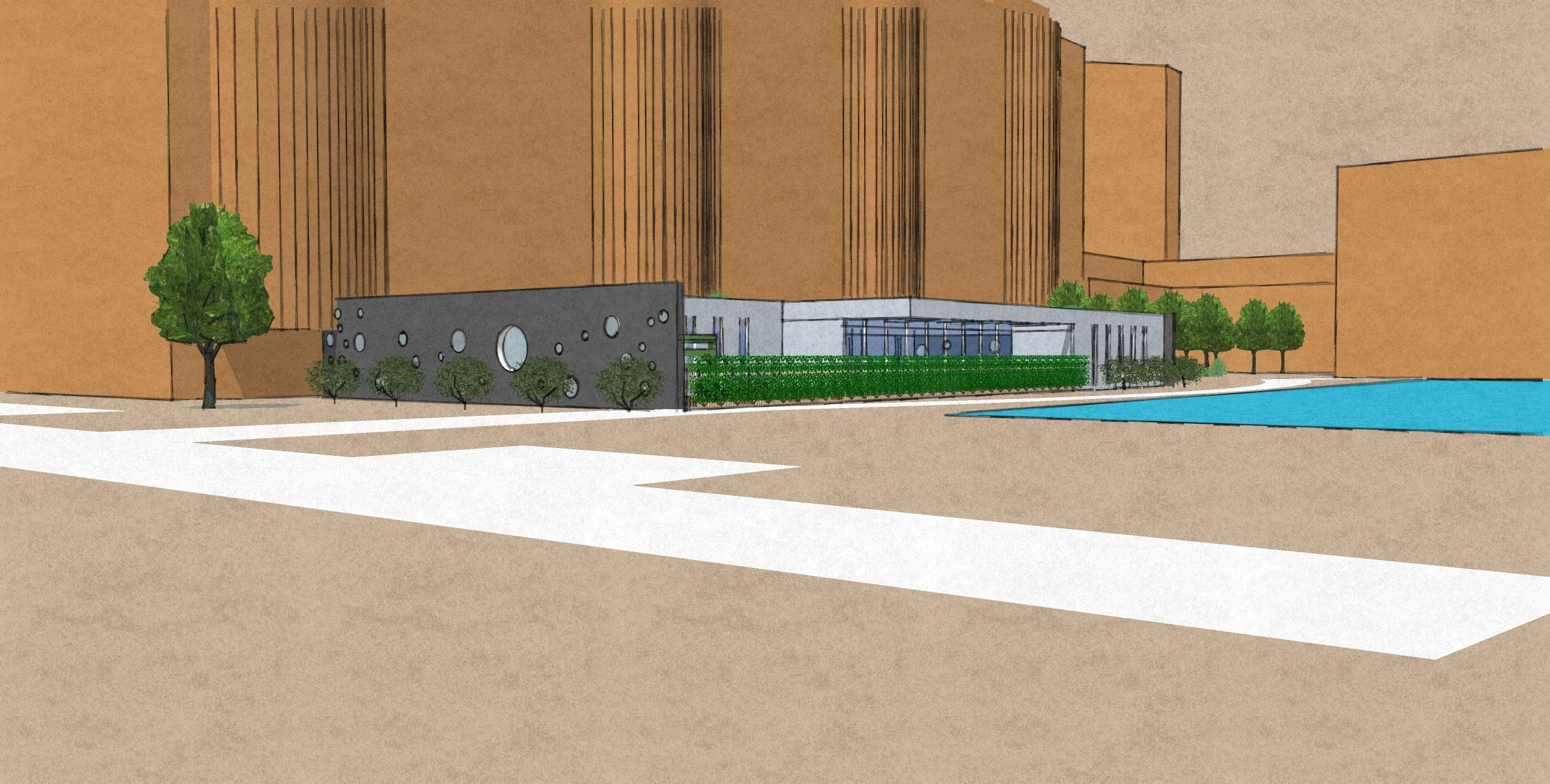 Scheme B - Side view 1