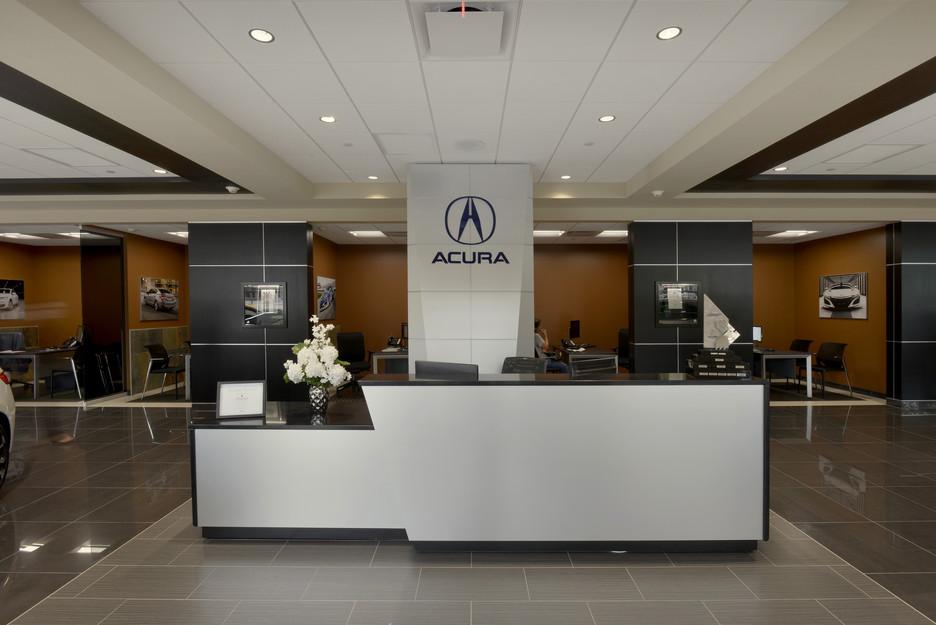 Curry Acura Reception Area