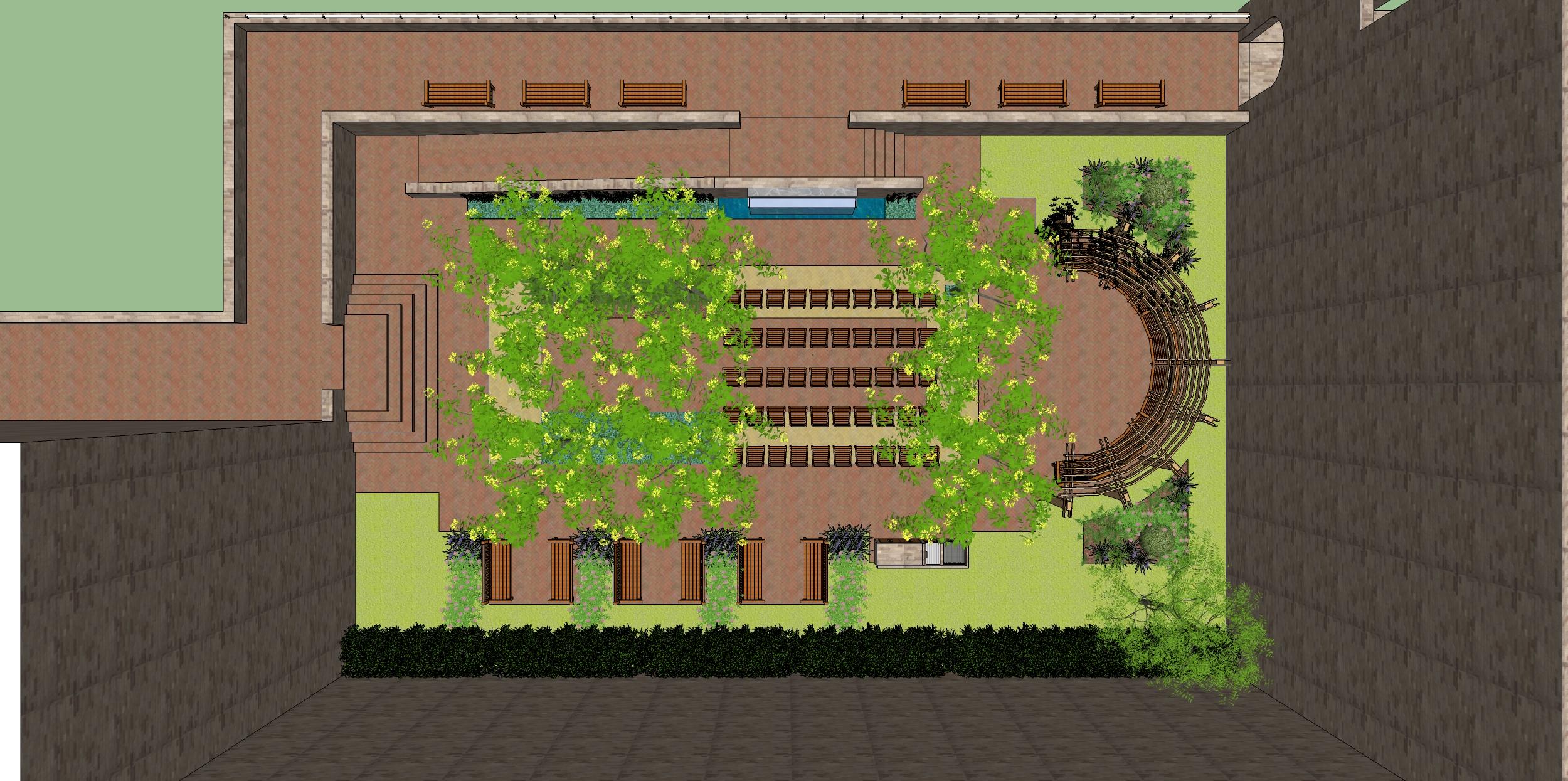 05_Seating Study Samaritan Village-courtyard