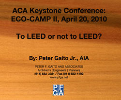 ACA_To LEED or Not to LEED