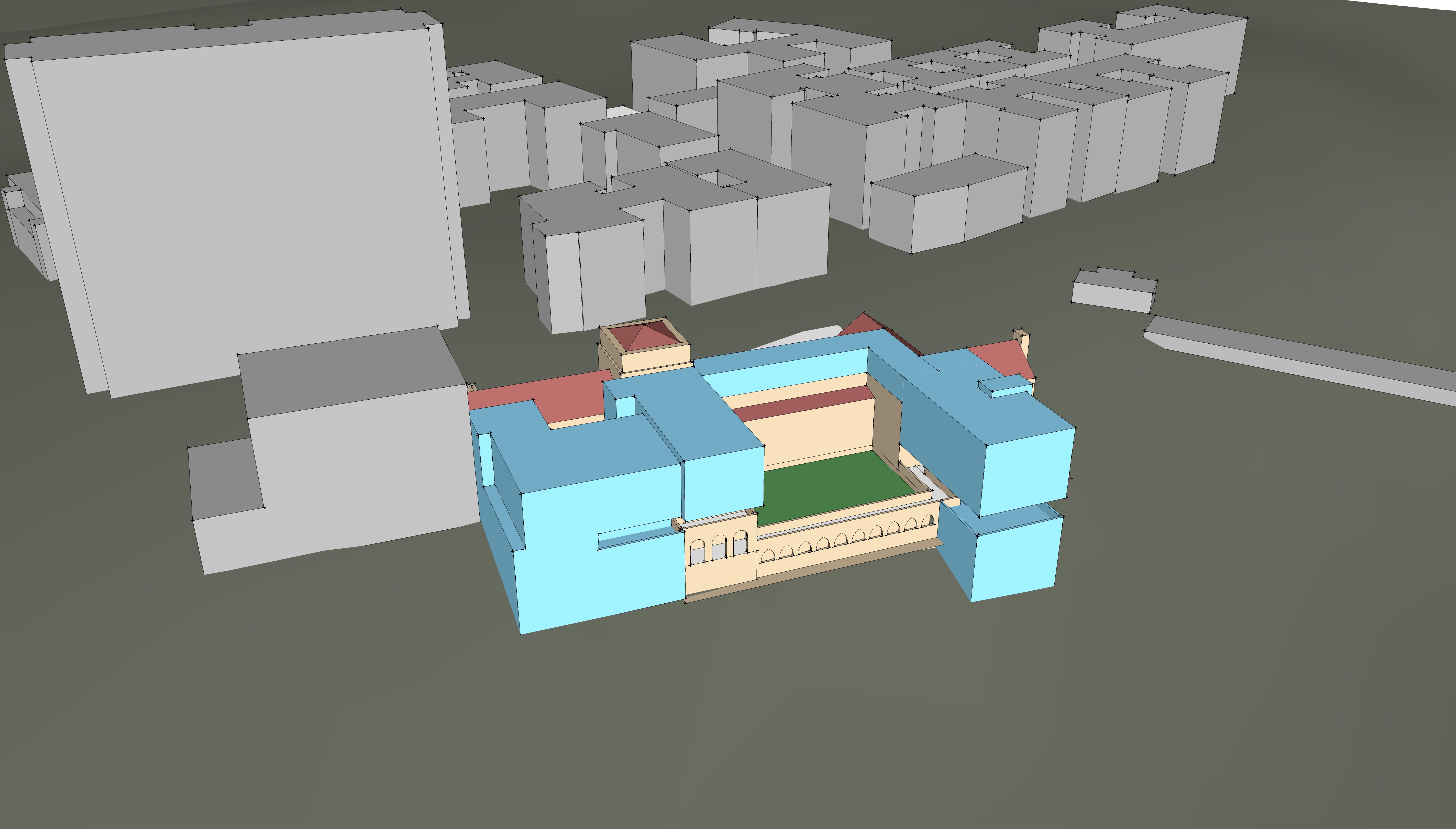 P-1225 Design Study-Massing