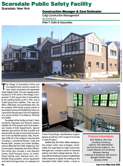 Scarsdale Public Safety Building Opens