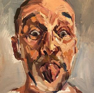 Self portrait- tongue out