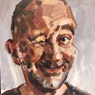 Self portrait - wink