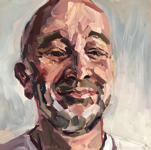 Self portrait - smirk