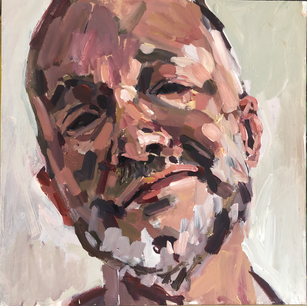self portrait - tilted head