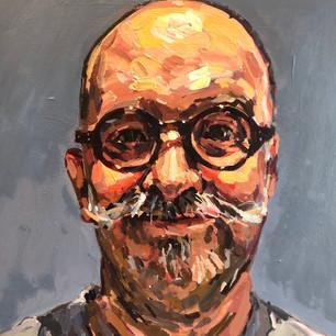 Self portrait with new specs