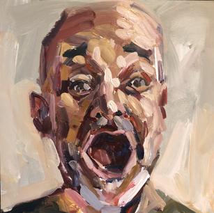 Self portrait - shocked!
