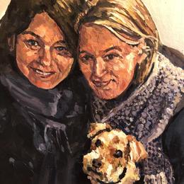 Acrylic on card - 2020