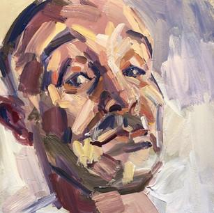 Self portrait - giving side eye