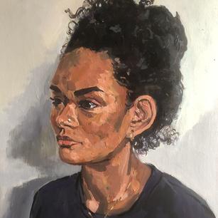 Ella - three quarter profile