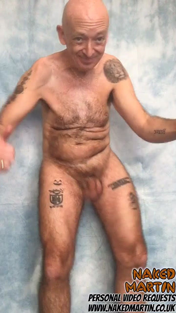 Next Day Priority Naked Martin Personal Video (1 Day)