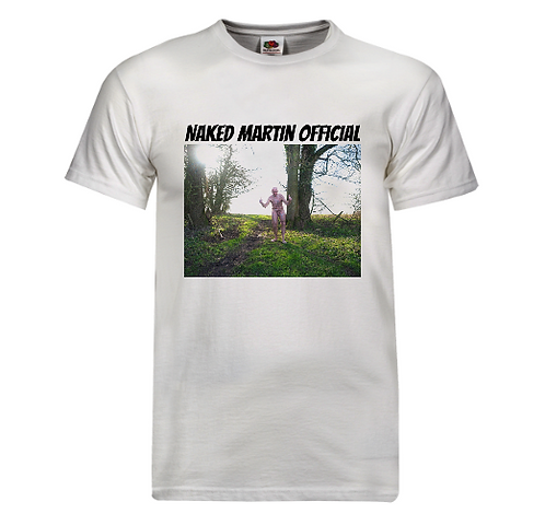 T-Shirt - Naked Martin Woods