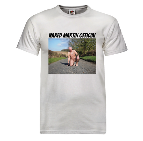 T-Shirt - Naked Martin Road