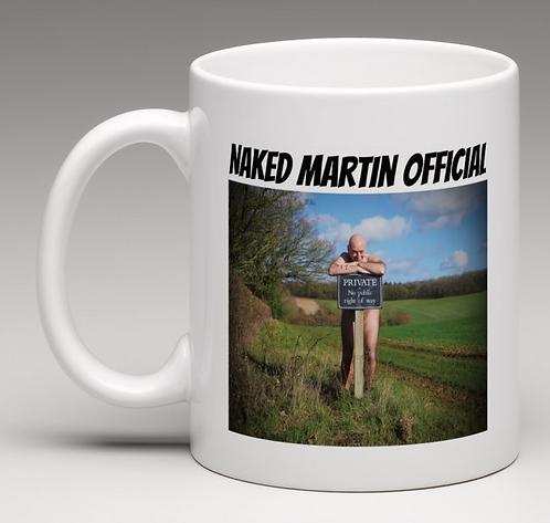 Mug - Naked Martin Sign