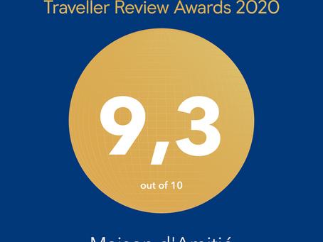 Wat een fantastische rating voor onze Vakantiewoning!
