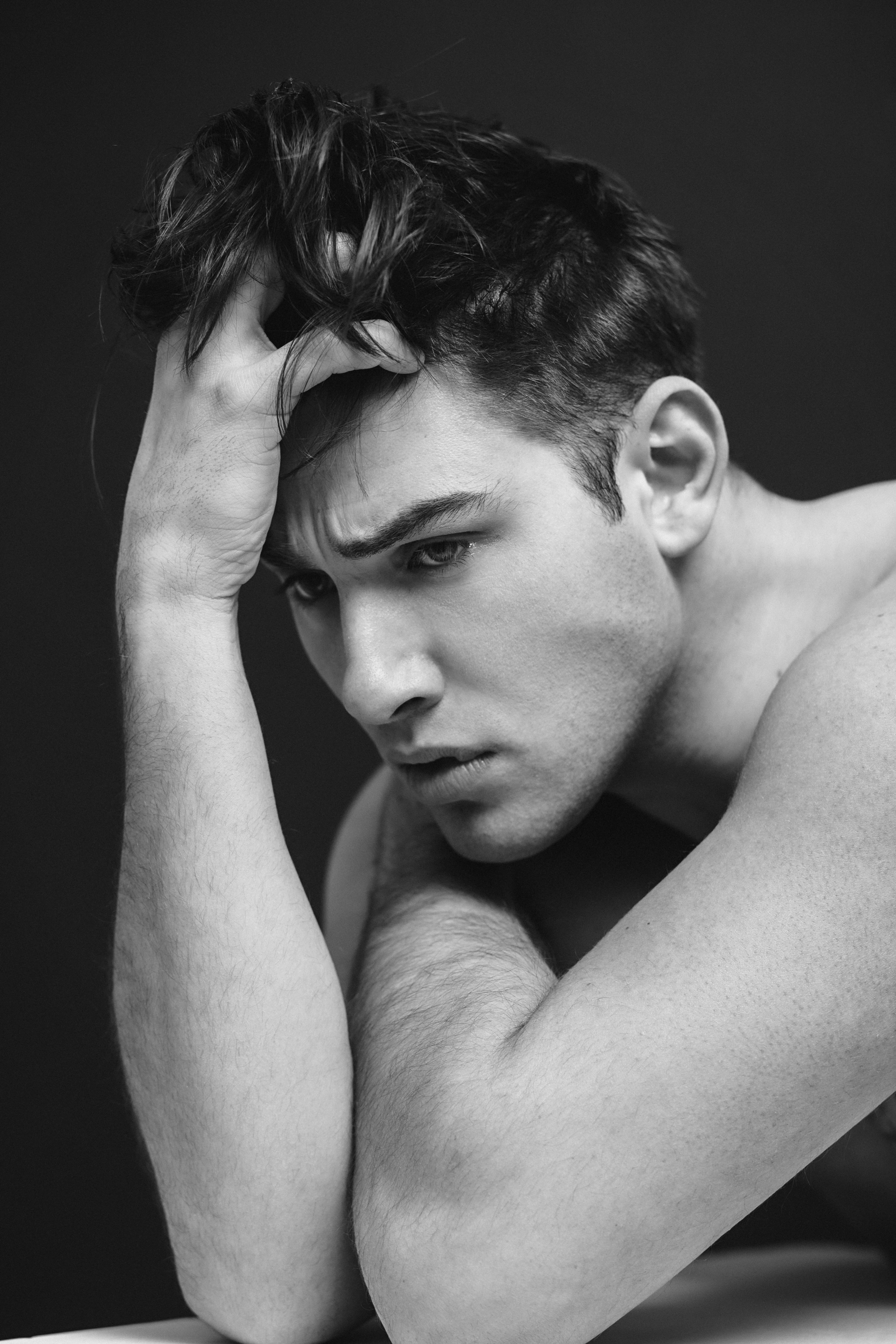 Model Test Shoot with Hannes
