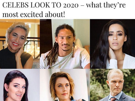 CELEBS LOOK TO 2020 – what they're most excited about with People Magazine!