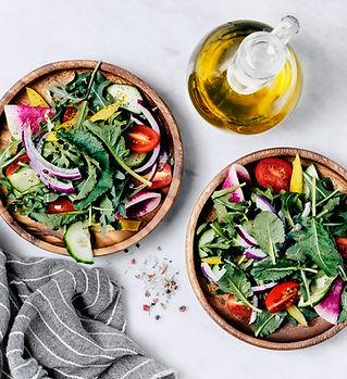 Salade saine