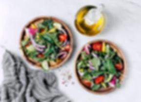 Salada saudável