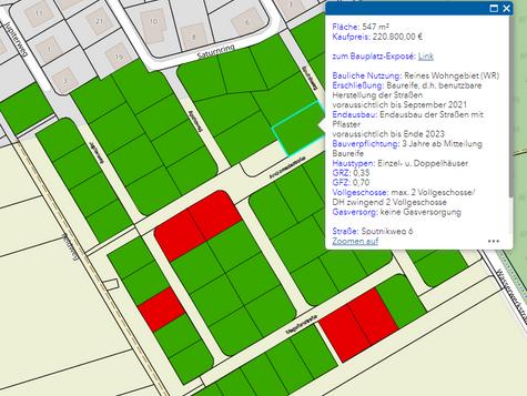 Bauplatzbörse der Stadt Bürstadt