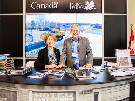 """THE """"BUZZ"""" AT PDAC IS FOR NORTHERN ONTARIO"""