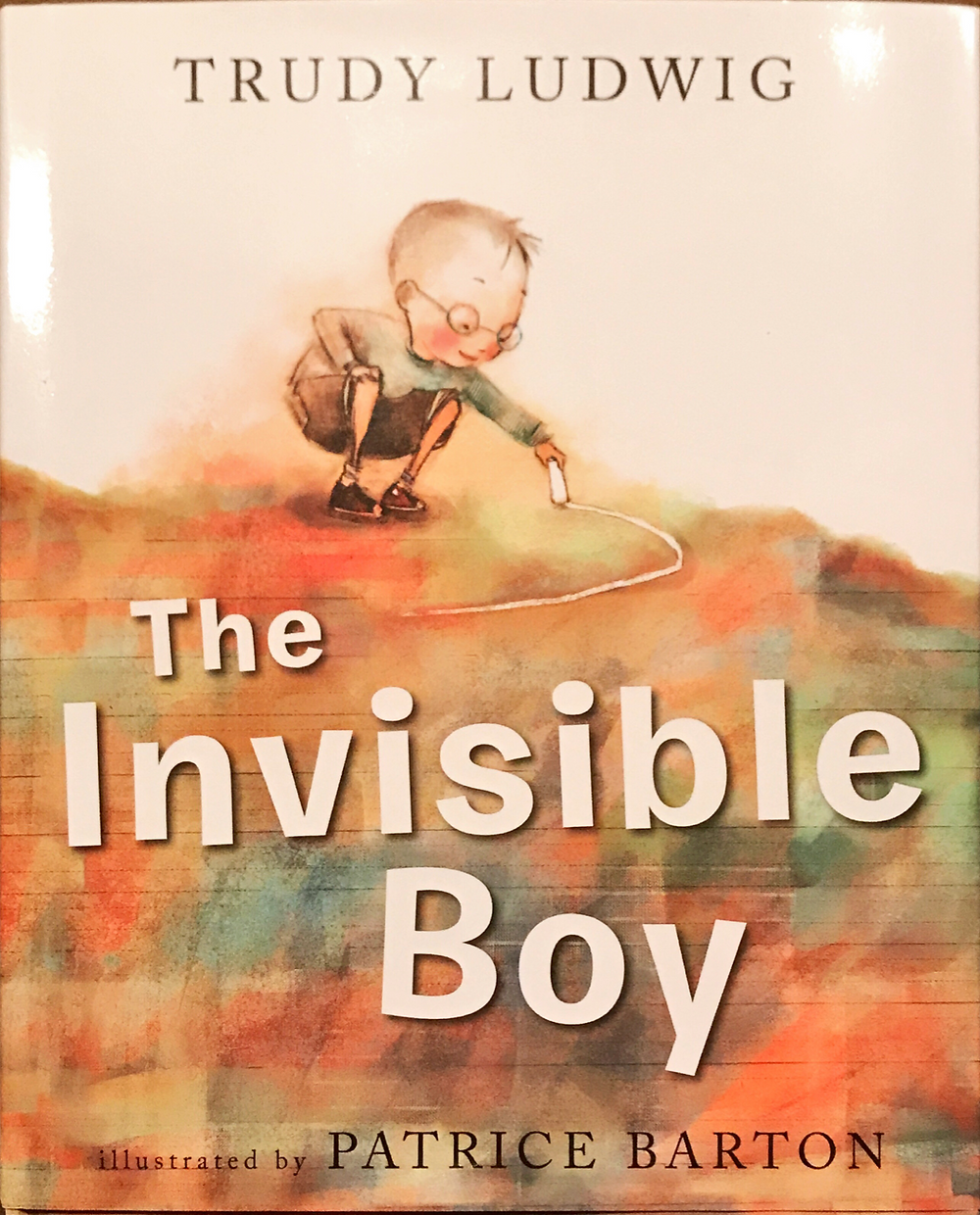 Cover of The Invisible Boy by Trudy Ludwig