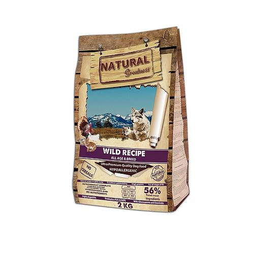 Natural Greatness Wild Recipe сухой корм для собак 2 кг