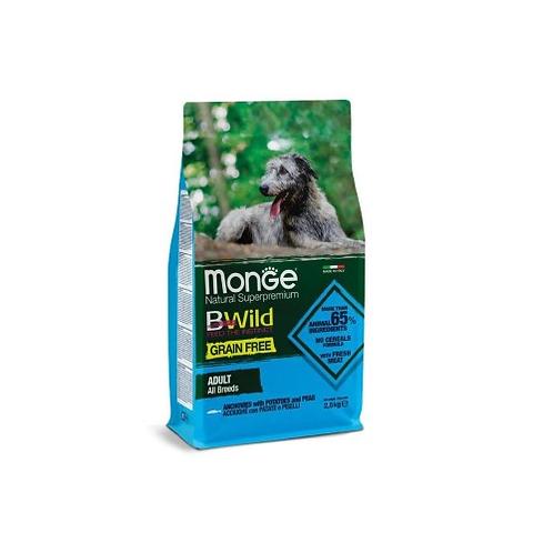Monge BWild д/собак беззерн.корм из анчоуса 2,5 кг