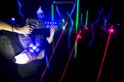 Pettorina Laser Game