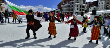 Bulgaarit tanssivat kolme päivää putkeen