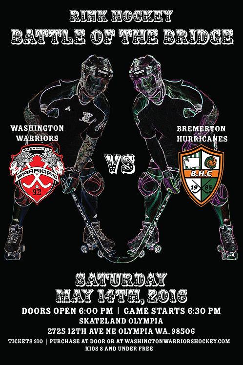 Washington Warrior Tickets