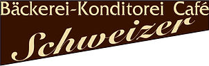 Logo Bäckerei-Konditorei Café Schweizer.