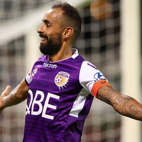 Perth Glory say farewell to Castro