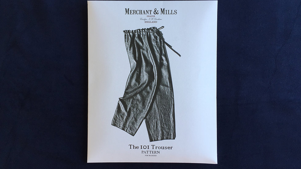 The IOI Trouser - Schnittmuster von MERCHANT and MILLS
