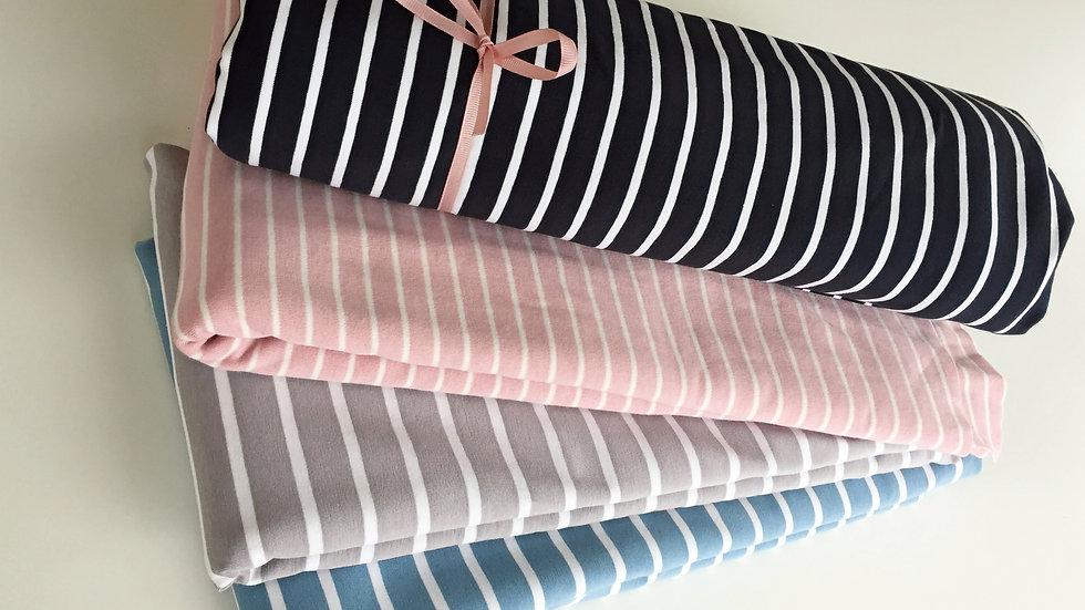 Nähpaket Streifen-Shirt Jersey - 4 Farben