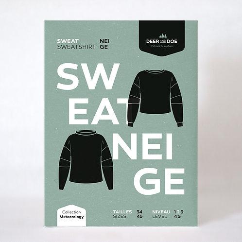 Sweatshirt Neige - Schnittmuster Deer and Doe