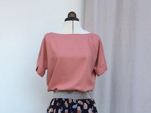 Nähpaket Blusenshirt Bloom Uni - Viskosekrepp in 2 Farben erhältlich